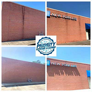Commercial Building Pressure Washing Jackson MS