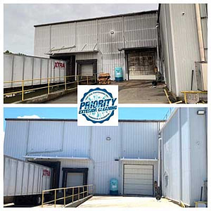 Jackson, MS Commercial Facility Pressure Washing