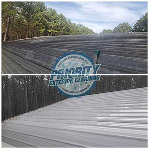 Jackson, MS Metal Roof Cleaning and Roof Wash